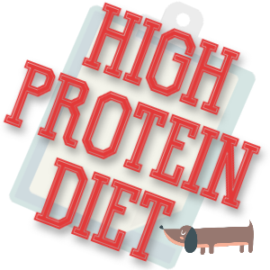 High protein diet for dogs